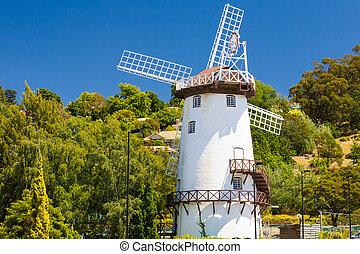 Windmill Launceston Tasmania - Historic windmill at...