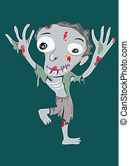 zombie, uomo