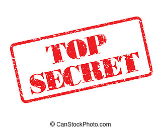 Top Secret rubber stamp illustration - Top Secret rubber...