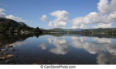 Ullswater Lake District Cumbria PAN