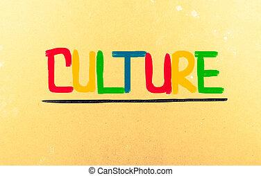 kultur, begrepp
