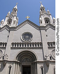 St Peter and Paul Church in San Francisco, California