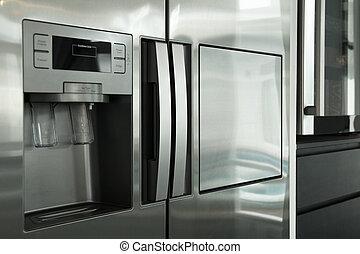 devant, réfrigérateur