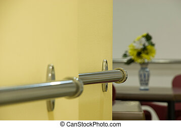 handrail for use by elderly