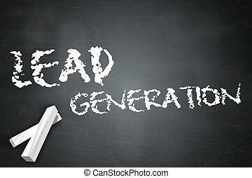 Blackboard Lead Generation - Blackboard with Lead Generation...