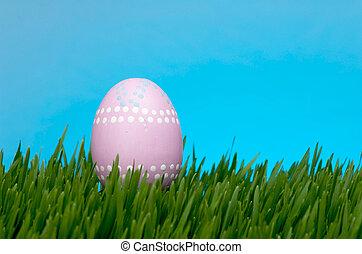 Light pink Easter egg