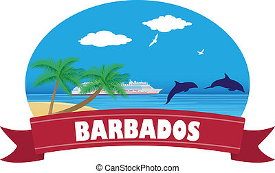 Barbados. Travel and tourism. For you design