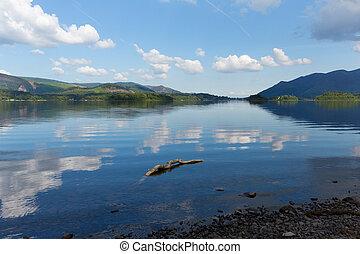 Derwent Lake District Park England - Derwent Water Lake...