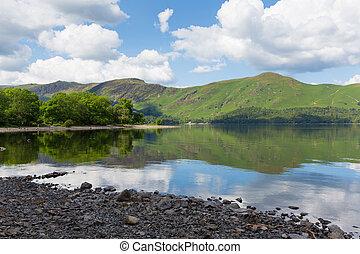 Derwentwater Lake District catbells - Derwent Water Lake...