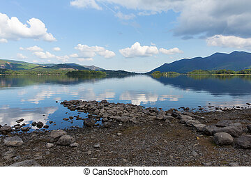 Derwent Water The Lakes England - Derwent Water Lake...
