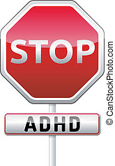 ADHD - Attention deficit hyperactivity disorder - isolated...