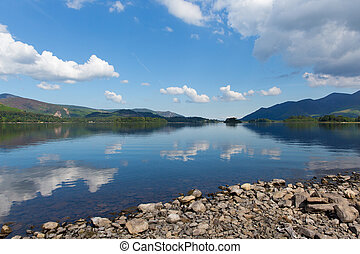 English Lake District Derwent - Derwent Water Lake District...