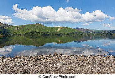 Derwent Water Lake District blue - Derwent Water Lake...