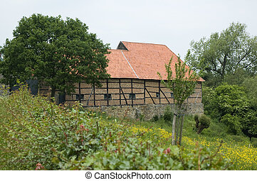 Old farm - Beautiful old farm in Limburg, Holland