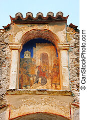 Medieval byzantine fortress of Mystras UNESCO World...