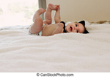 Funny 6 month old baby