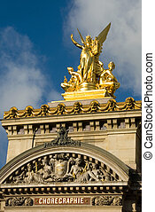 Paris Opera House Sculpture