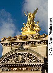 Paris Opera House Sculpture