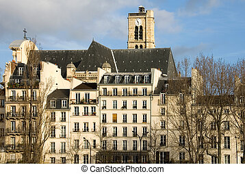 Parisian Apartments - A Parisian apartment building