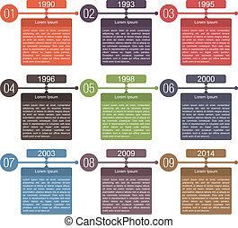 Timeline Design Template - Timeline design template with...