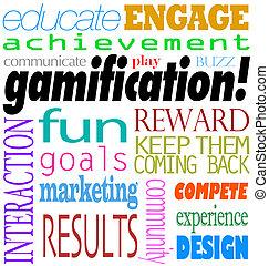 Gamification, palabras, interacción,...
