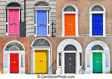 Georgian doors in Dublin - Types of Georgian doors in Dublin