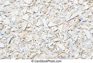 Plastic resin pellets background