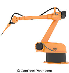 Industrial Robotic Arm - Industrial Modern Robotic Arm...