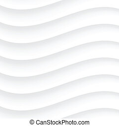 White Wavy background. Vector Illustration