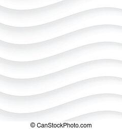 White Wavy background. Vector Illustration