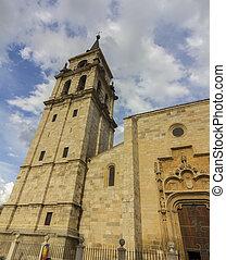 church Magistral de los Santos Justo y Pastor, Alcala de...