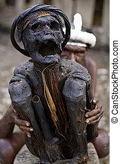 Mummy in Papua  - Papua mummy