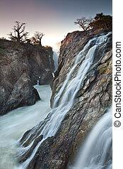 : side falls