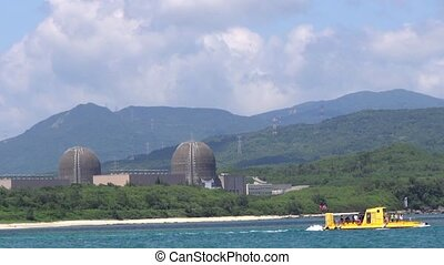 nuclear power plant in kenting national park , taiwan