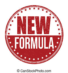 New formula stamp - New formula grunge rubber stamp on...