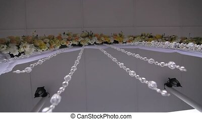 wedding arch - motion of chamber through a wedding arch