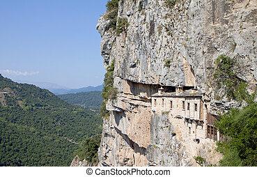 Monastery of Kipina in Greece - Monastery of Kipina at...