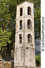 Traditional steeple in Greece - Traditional steeple at...