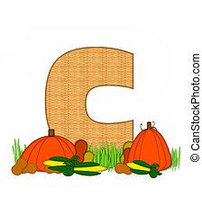 Alphabet Blessed Bounty C