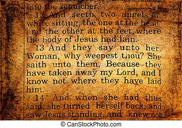 mary, seeks, Jesus