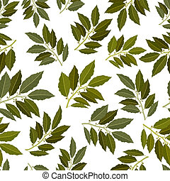 seamless texture of bay leaf