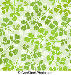 seamless texture of parsley