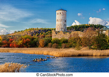 Stegeborg castle in Sweden - Stegeborg is a famous castle...