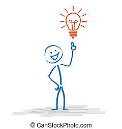 Stickman Bulb Idea