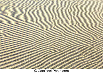 background of sand ripples at the beach - Abstract...