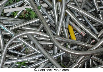 steel Scrap iron scrap material  recycle