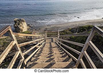 El Matador Beach Malibu - El Matador beach north of Malibu...