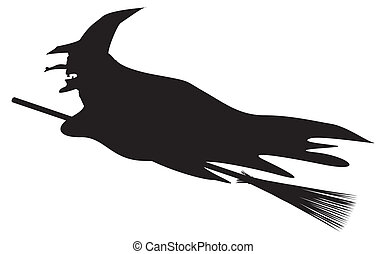 Halloween Witch Silhouette