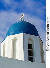 The Chapel on Skaros, Santorini - The Chapel of Agios...