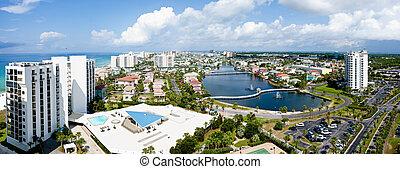 Destin, Florida, esmeralda, Costa